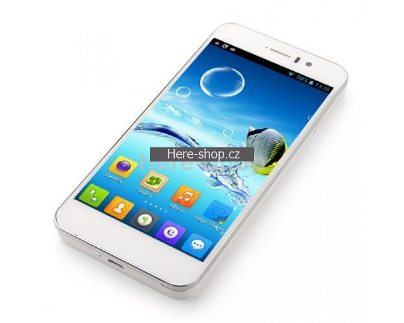 JiaYu G4S Advanced, octacore, 2GB RAM, Gorilla Glass, dual sim, CZ, bílý