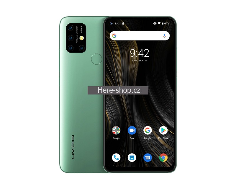 Umidigi Power 3 zelený