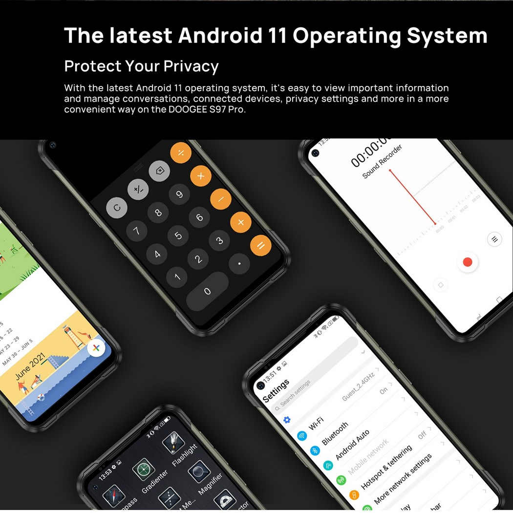 Doogee S97 PRO Android 11