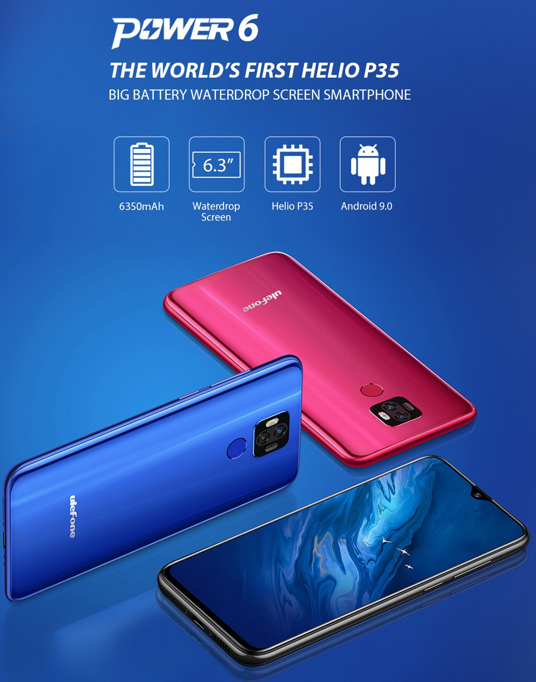 Ulefone Power 6 Helio P35